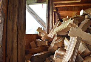 Holzspalter mit Benzin