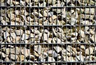 Gabionen Wand