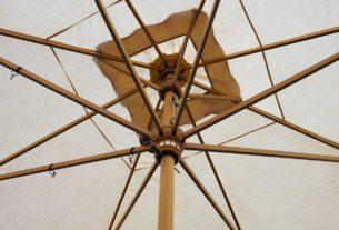 Sonnenschirm aus Holz